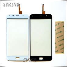 """Syrinx 5.5 """"avec 3 M Bande Pour Umi Tactile Mobile Téléphone Avant Écran Tactile En Verre Digitizer Pour UMI Tactile X Écran Tactile Capteur panneau"""