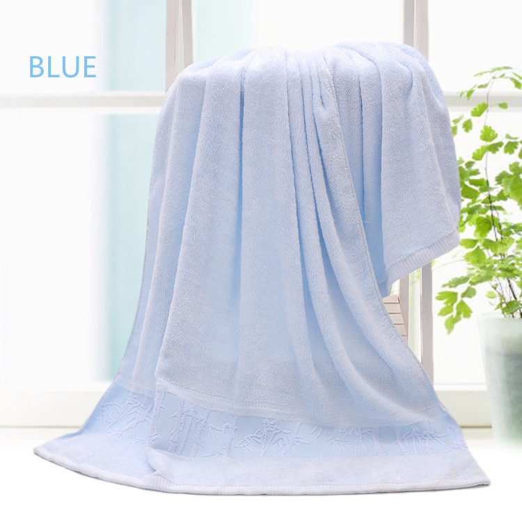 For adults use bamboo fiber bath towel high water absorption bath towel pure soft Chinese towels