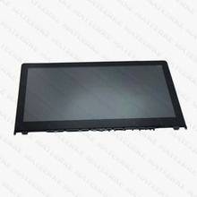 Dokunmatik LCD Meclisi Ekran + Digitizer + Çerçeve Için Lenovo Yoga 500-14IBD 80N4 1080 p