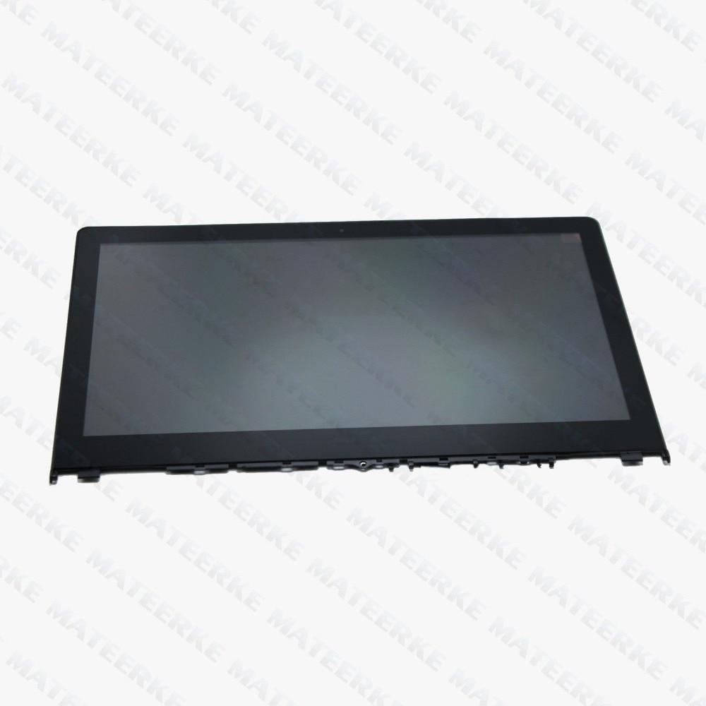 Touch LCD Assembly Screen +Digitizer+ Bezel For Lenovo Yoga 500 14IBD 80N4 1080p