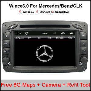 Dvd-Player 2-Din Car for E210/C208 Canbus Fm-Gps Bt-Map 7inch