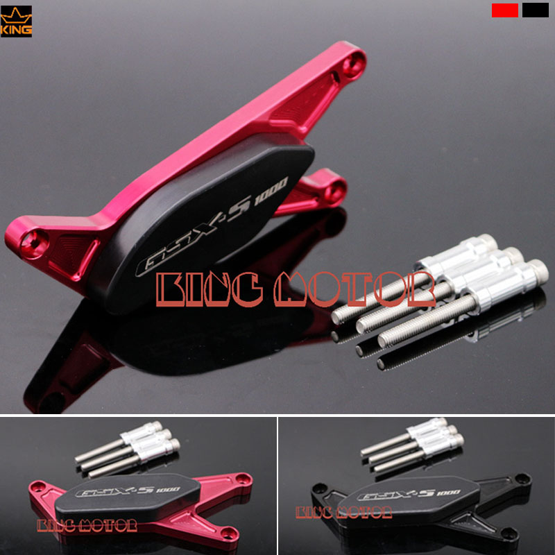 Hot Sale For SUZUKI GSXS1000 GSXS1000F GSX S1000 GSX S1000F Motorcycle Engine Protector Guard Cover Frame Slider Red