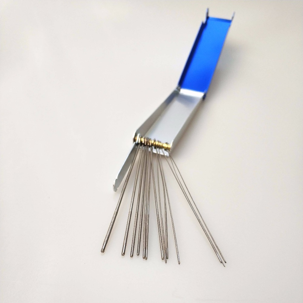 100 x Gas Welding Tip Nozzle Cleaner Set Mig Torch Cutting Metal Box