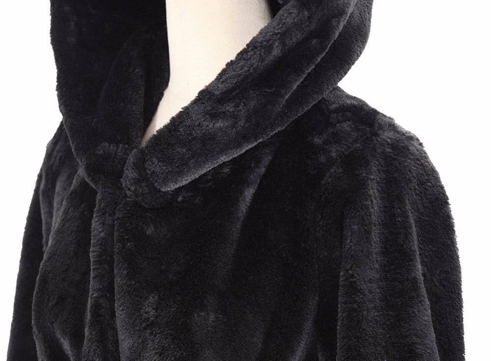 Plus Taille Hiver Veste Et 5xl Femmes Manteau 2018 Fourrure Automne Lâche De Vêtements Longue Pour Émulation Tranchée Femme Black Haute Ch436 w6qZgg
