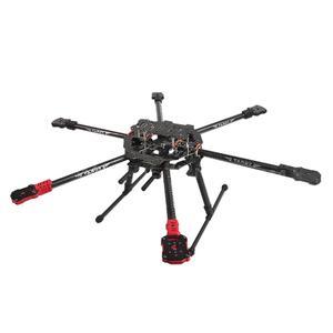 Image 2 - Kit Completo Hexacopter Gps Drone Aereo Kit Tarocchi FY690S Telaio 750KV Motore Gps Apm 2.8 di Controllo di Volo AT10II Trasmettitore F07803 A