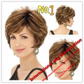 Hot sale ! High temperature synthetic Wig Fashion wig New Charm Women's Short Brown Blonde Natural Hair wigs