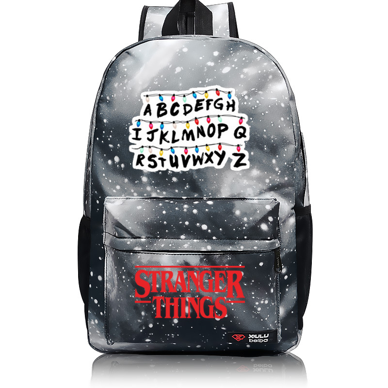 7d1361f3c757 Aliexpress.com   Buy 2018 NEW Stranger Things school teenager boy girl Men  women s Kids backpack student school bag Notebook backpack Daily backpack  from ...