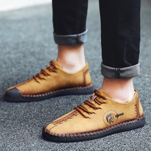 Valstone 2019 Spring Leather Casual Shoes Men handmade vintage shoes lace up Natural Rubber bottom Ankle boots optional size 48