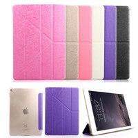For Apple IPad 2 3 4 Multi Fold Auto Wake Up Sleep Flip Leather Case For