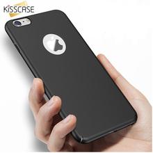 iPhone 7 6 6s Plus 5s 5se Ultra Thin Luxury Phone Case For iPhone 6 6s Cover Coque KISSCASE Hard Plastic Matte Cases