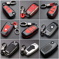 Car Styling Keychain For Ford Focus Fiesta Mustang Mondeo Kuga Eco Sport Edge Exploror Key Ring