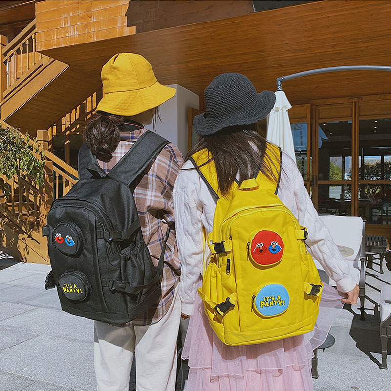 New Oxford Waterproof Student Backpack Cute Cartoon Embroidery Multi-function Backpack Large Capacity Unisex Travel Shoulder BagNew Oxford Waterproof Student Backpack Cute Cartoon Embroidery Multi-function Backpack Large Capacity Unisex Travel Shoulder Bag