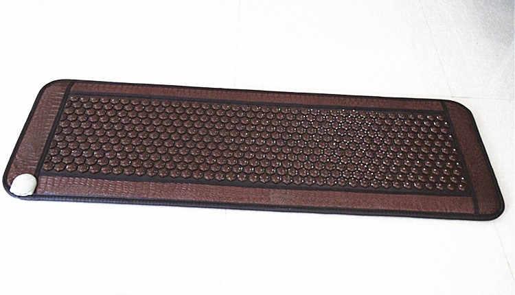 Colchón de envío gratis Corea hecho en china masaje térmico eléctrico de piedra de masaje cama de jade cojín 50 cm X 150 cm