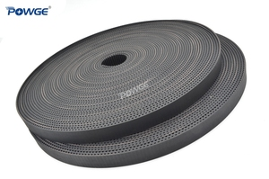 Image 4 - POWGE Arc Tooth HTD 3M timing belt 3M 9mm width 9mm Length 50000mm Rubber Fiberglass HTD3M open Synrhonous belt Pulley 50Meters