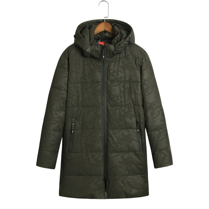 2017 Winter Jacket Men Cotton Padded Long Thick Warm Casual Hooded Mens Winter Parkas Size 6XL 7XL 8XL мужской пуховик al men s padded jacket winter warm hooded jacket