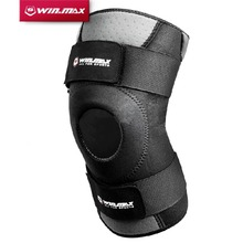 WINMAX Neoprene Elastic Open Patella Adjustable Basketball Kneepad Rodilleras Soutien Joelheira Knee Protector Support Pad Brace