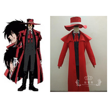 2016 Hellsing Alucard Cosplay Red Mens Hellsing Cosplay Costume