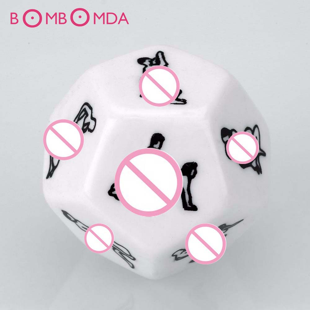 2pcs/<font><b>set</b></font> 12 Sides Love Posture <font><b>Adult</b></font> Dice <font><b>Adult</b></font> Games Fetish Sextoys Romance Erotic Craps Dice Foreplay <font><b>Toys</b></font> <font><b>Sex</b></font> <font><b>Toys</b></font> for <font><b>Adults</b></font> image