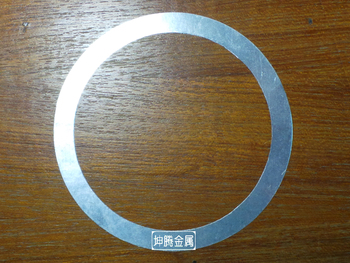 Indium ring  56mm outside 30mm thick 0.1mm laser heat dissipation coating material