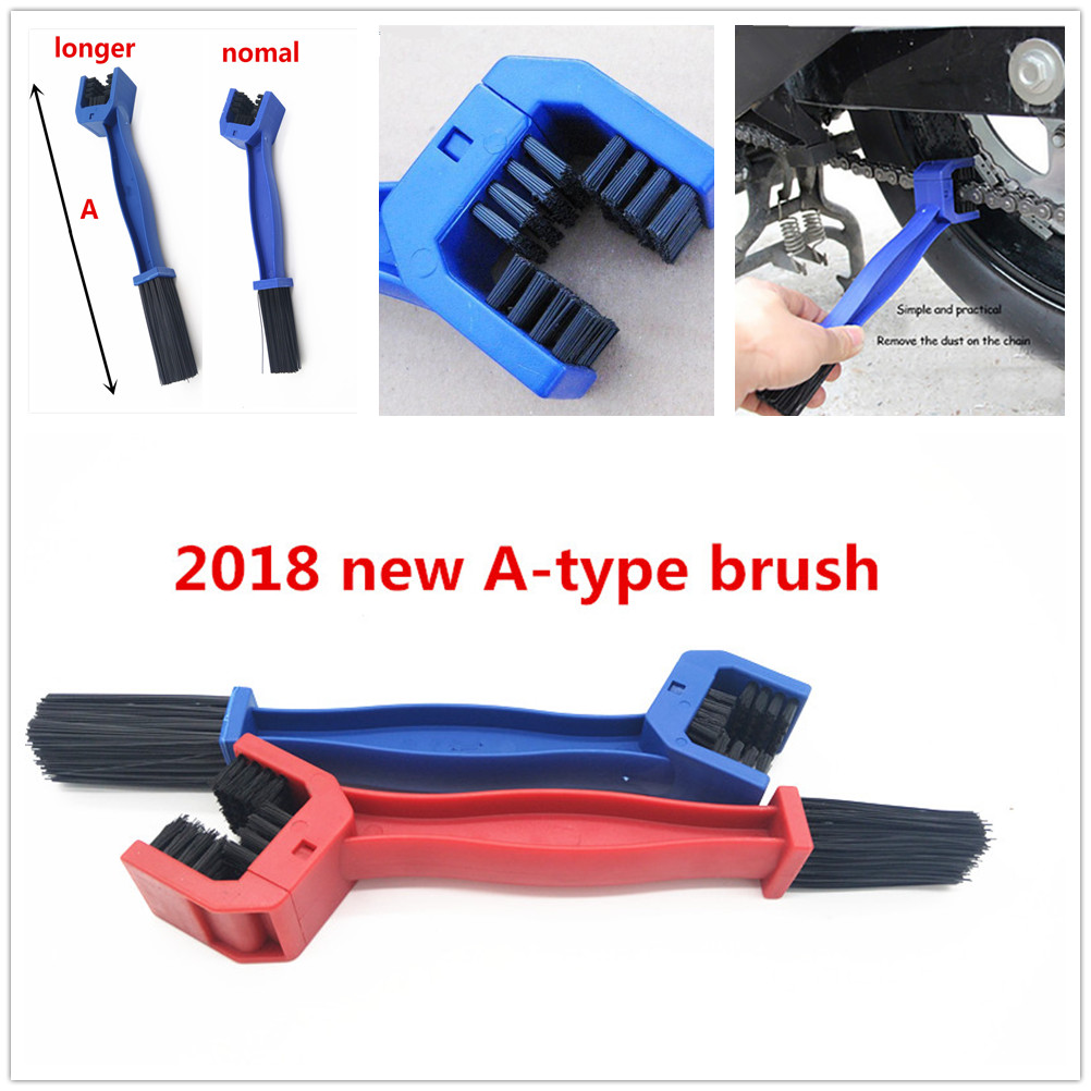 2018 New Motorcycle Bike Chain Brush Cleaner Scrubber Tool Grunge Gear For Suzuki Dl650 Vstrom Dr 650 S Se Sv650 S Gsxr1000 Reliable Performance