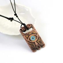 Legend of Zelda Necklace Wild Fashion Chain Necklace Eyes Anime Jewelry