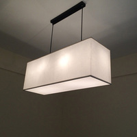 Chinese Cloth Lighting Pendant Lights Nordic NEW Modern Minimalist American Style Living Room Linen Cloth Pendant