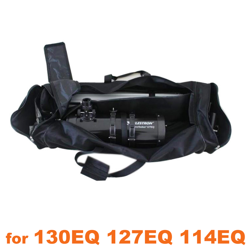 Telescope Carrying Protector Soft Case Shoulder Bag Backpack For Celestron Telescope AstroMaster 130EQ 127EQ 114EQ