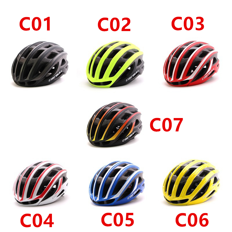 C01 07 Ultra Light Road Bike Pneumatic Helmet Mountain MTB Helmet The Overall Molded Bicycle Helmet