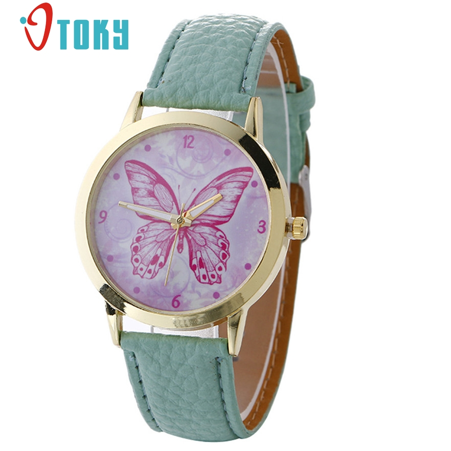 OTOKY Relojes mujer 2017 Leather Wrist watch Bracelet Quartz watch Woman Ladies Watches Clock Female Dress Relogio Feminino #20 hot unique women watches crystal leather bracelet quartz wrist watch mujer relojes horloge femmes relogio drop shipping f25
