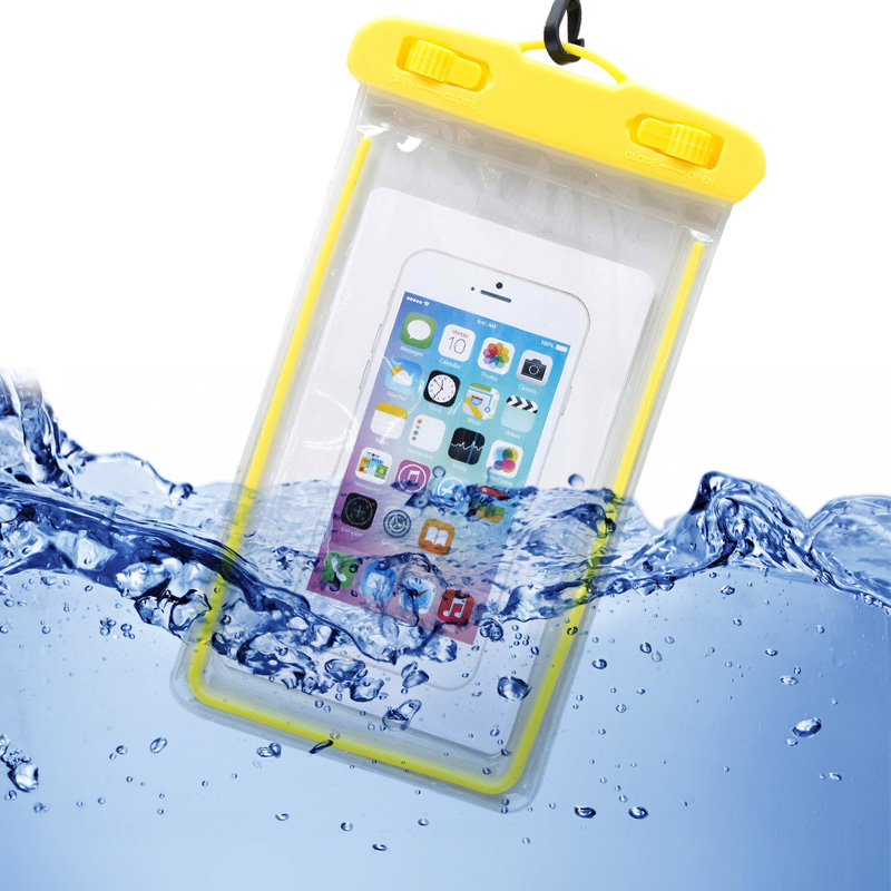 Waterproof Bag Case For Phone Luminous PVC Swimming Bags IPX8 Underwater Phone Case For Seaside Vacation Universal All Models