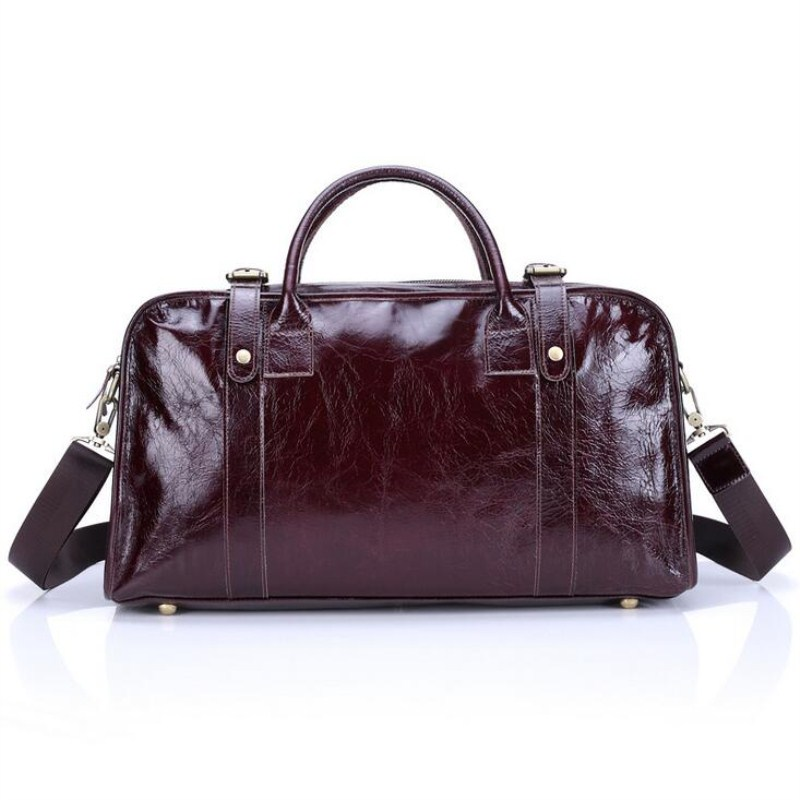 Bullcaptain Genuine Leather Bag For Men Or Women Vintage Handbag Real Cowhide Crossbody Bags Unisex Travel Bag Totes