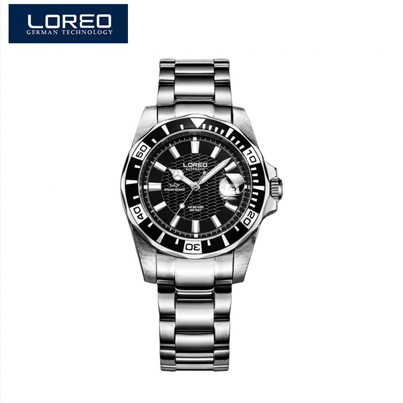 LOREO Watch Men Fashion Relogio Masculino Automatic Mechanical Vintage Watch Birthday Gift For Man Christmas Gift Whit Box A52 hot fashion jewelry the greatest dad retro necklace pocket watch vintage men s father birthday gift