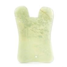 Natural Jade Stone Guasha Massage Board Body Face Lift Anti Wrinkle Facial Relaxation Lifting Slimmi
