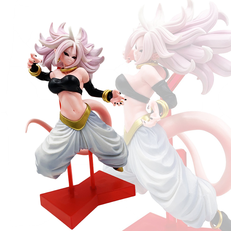 Dragon Ball Z 21 Figurine Lady Girl Collection Model Toy