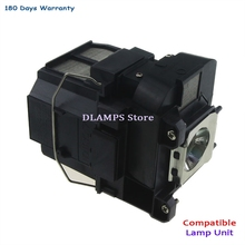 цена на Replacement  Projector Lamp ELPLP77 for EPSON PowerLite 4650 4750W 4855WU  G5910, EB-4550  EB-4750W  EB-4850WU-180 days warranty