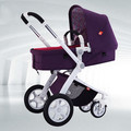 Baby stroller high landscape four-wheel shock cart can sit can lie