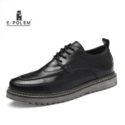 Tendência Inglaterra Calçados Casuais Nova Outono Black Homens Botas Moda Desgaste brown 2018 Inverno De Da grey E Retro Pequeno Sapatos Dos xIZwIqUvfA