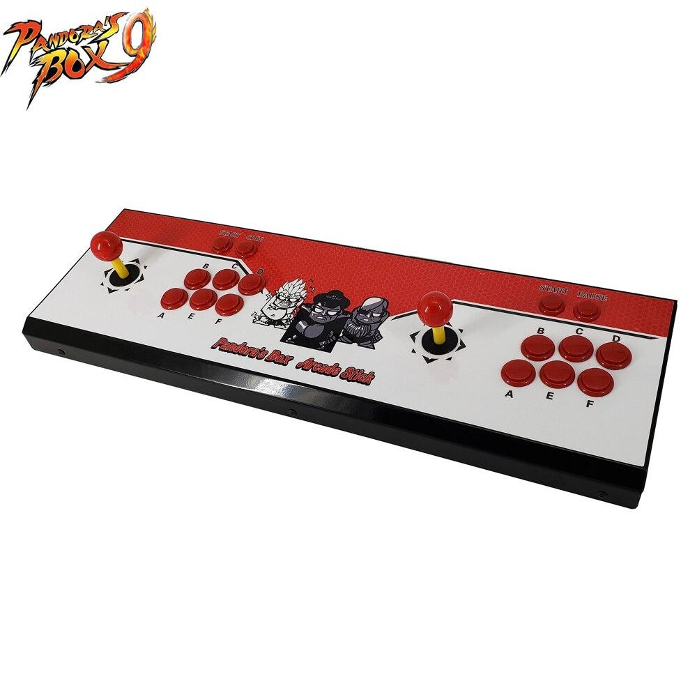 2019 Più Nuovo Joystick Console, macchina di video gioco di arcade FAI DA TE con 1500 in 1 gioco pcb bordo Scatola di Pandora 9