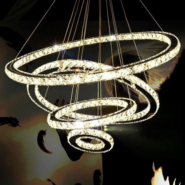 K9 crystal modern led pendant lights kitchen lighting pendants round k9 crystal modern led pendant lights kitchen lighting pendants round ring led lustre dining room suspended aloadofball Gallery