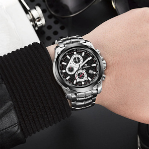 Image 5 - CASIMA Mens Chronograp ספורט שעון אופנה 100M עמיד למים צולל צבאי קוורץ שעון יד שעון גברים saat Relogio Masculino
