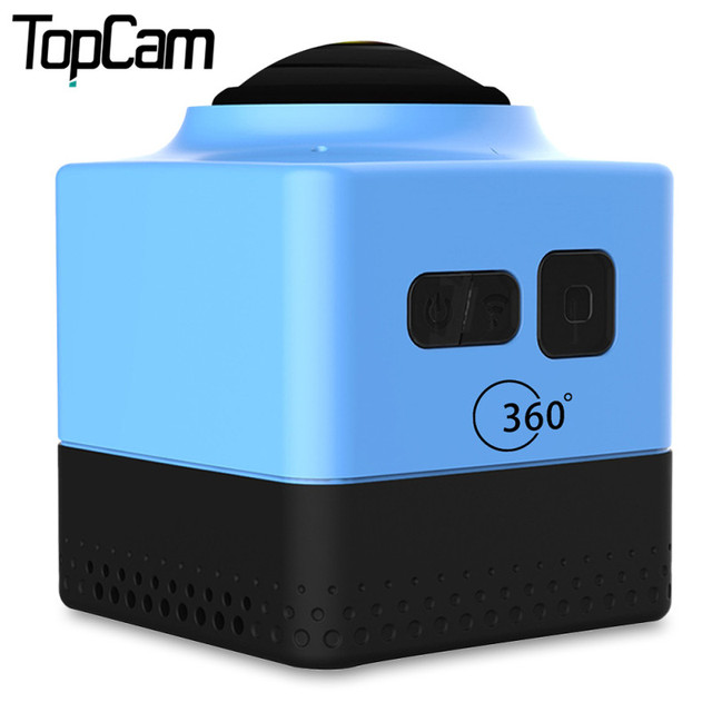 360 Camera 360 Degree Panorama Action Camera Wifi 1280*1024 Portable Mini Camcorder Outdoor Sport Wide-Angle Video Camera