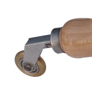 Image 5 - 2019 6mm Brass Penny Roller With Ball Bearing Plastic Hot Air Plastic Welder Gun Tool Welding Soldering Supplies Welding Nozzles