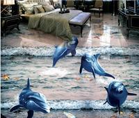 現代壁紙デザイン床タイルビニールリビングルーム3d壁紙床家の壁材3dフローリングキッチンビニール壁紙