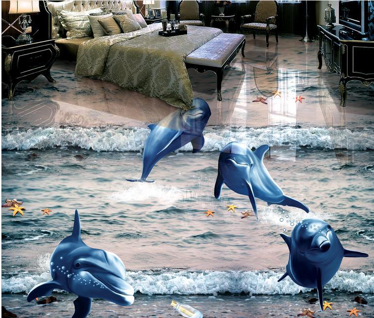Modern Wallpaper Design Floor Tile Vinyl Living Room 3d Wallpaper Floor House Wall Coverings 3d Flooring Kitchen Vinyl Wallpaper