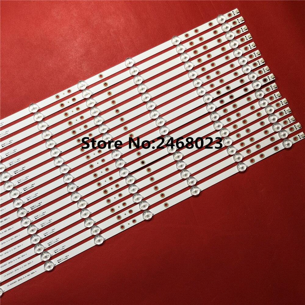 16PCS  LED backlight  strip kit bar CX-65S03E01 for So ny 65