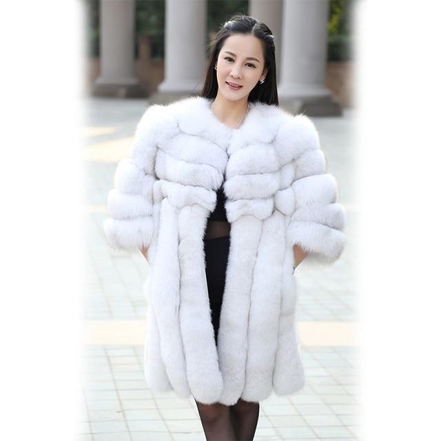 Aliexpress.com : Buy New 2017 Royal Style Natural Fox Fur coats ...