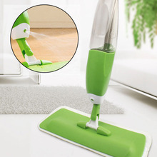 купить 2019 Brand Spray Mops Spray Water Mop Hand Wash Flat Mop House Cleaning Wood Floor Tile Marble Home Kitchen Cleaning Tools Mop дешево
