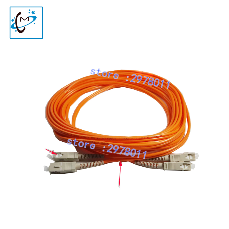 Hot sale !!! Konica 512i 1024 print head optical data cable fiber cable for Versacamm Leopard JHF vista outdoor inkjet printer 31 pins 2pc 30 1pc 110cm long head data cable for 4880c printer