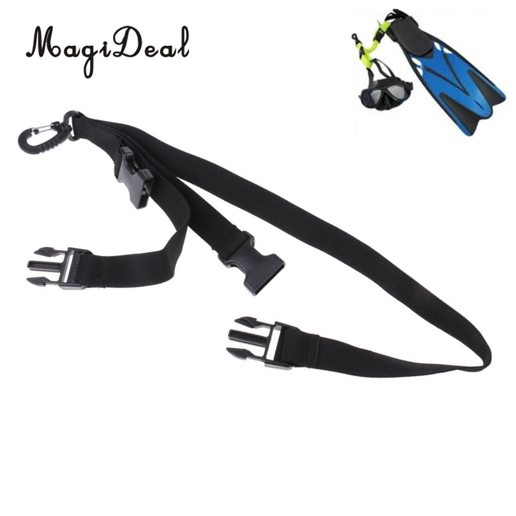 MagiDeal New Scuba Diving Fin and Mask Keeper Holder Strap Lanyard Quick Release Buckle for Water Sports Accessories