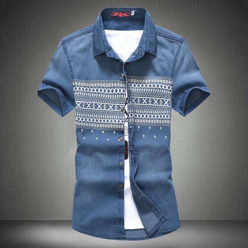 Online Get Cheap Denim and Flowers Casual Shirt -Aliexpress.com ...